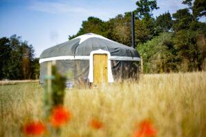 Wild Meadow Raynham Hand Crafted Yurt.